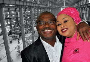 Meet The Couple Behind Nigeria's Largest Steel Sheet Factory
