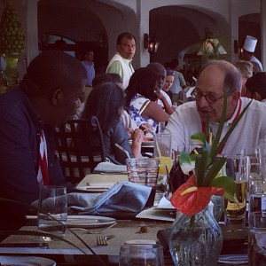 Don Jazzy in Mauritius With Mobile Entertainment Billionaire Ralph Simon