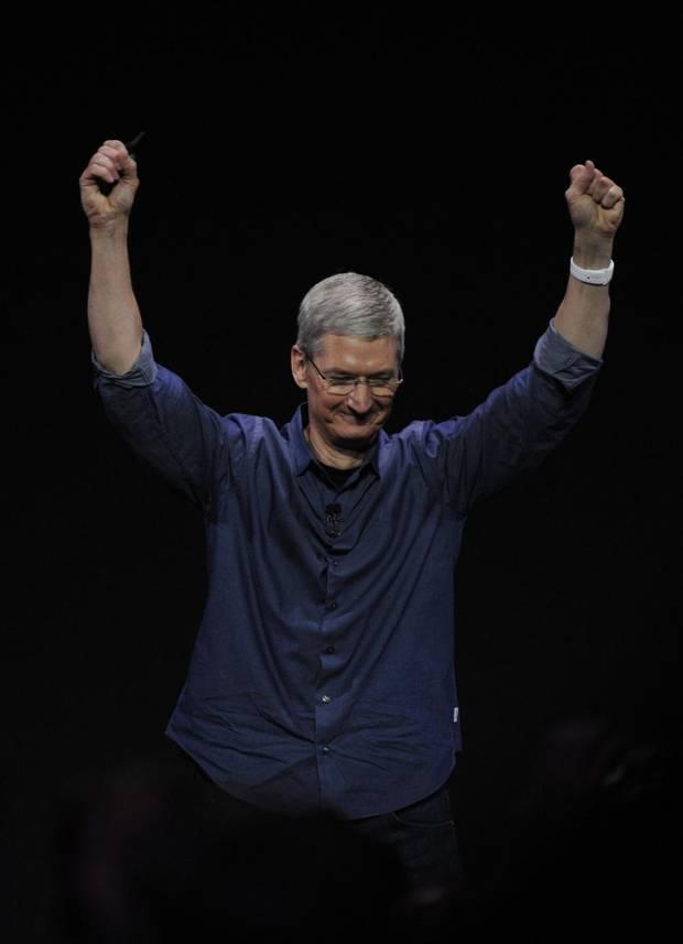 tim cook apple unveil