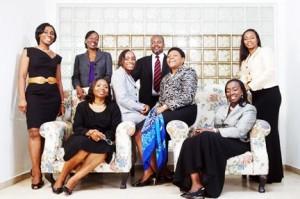 WIMBIZ founders including Chi-chi Okonjo, Ibukun Awosika, Mobolaji Johnson, Yewande Zaccheaus and Bola Adesola