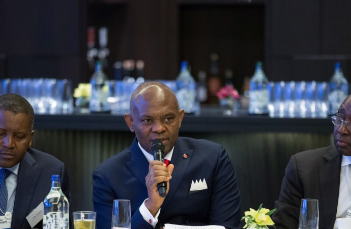 Africans Investing in Africa: A Book Launched at World Economic Forum