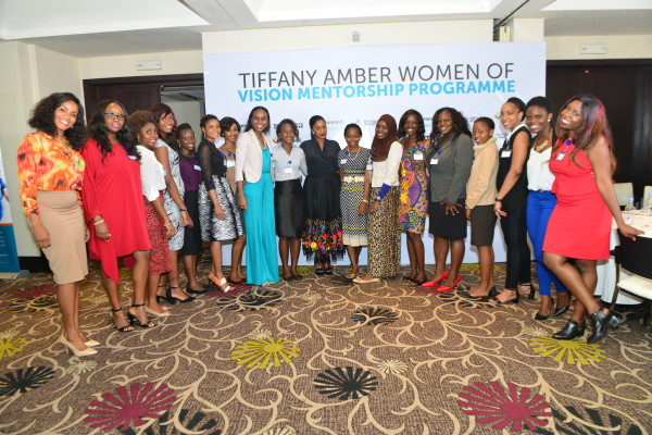 Business Mentorship, A Growing Force in Africa's Development as 17 Mentees Emerge in Tiffany Amber WOVMP