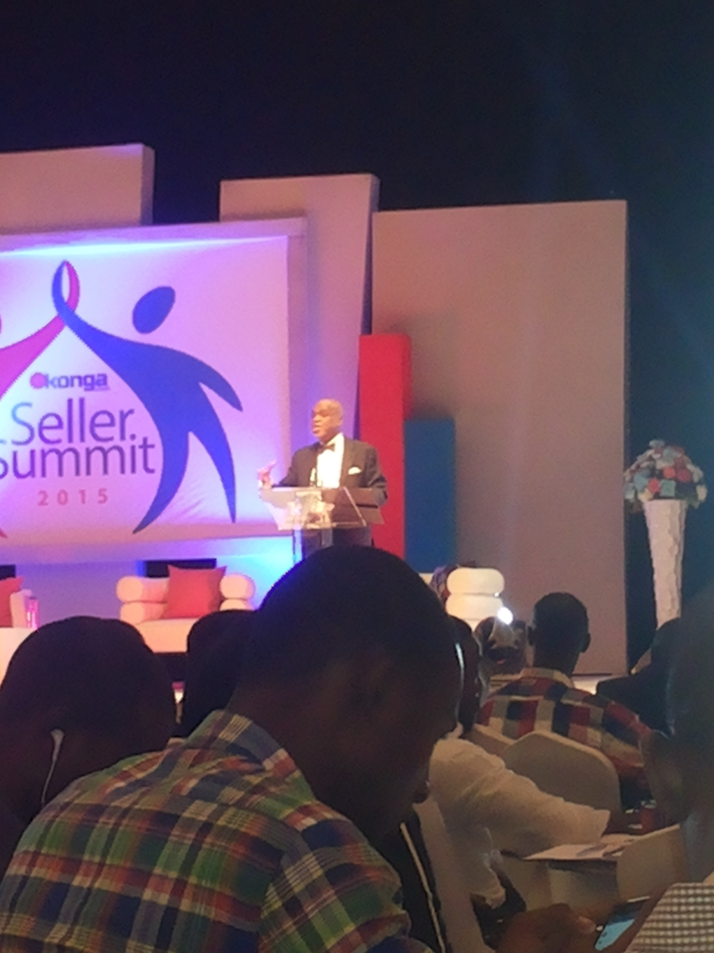 Troyka's Biodun Shobanjo giving the Keynote address