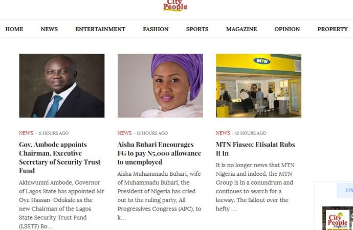 City People Partners Anozim to launch celebrity news and gossip website