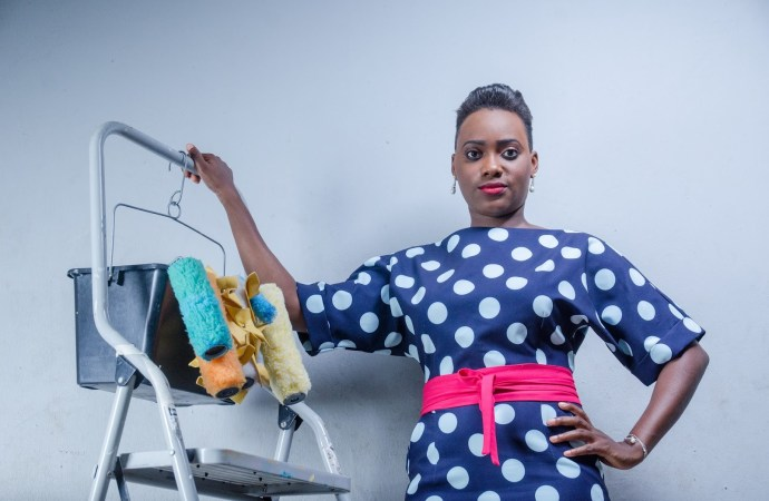 Meet Uju Udoka: The Lady Painter who is disrupting painting services in Nigeria