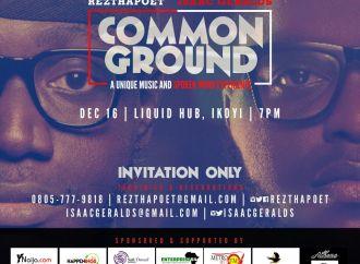 Common Ground: Spokenword entrepreneur set to release Album this February