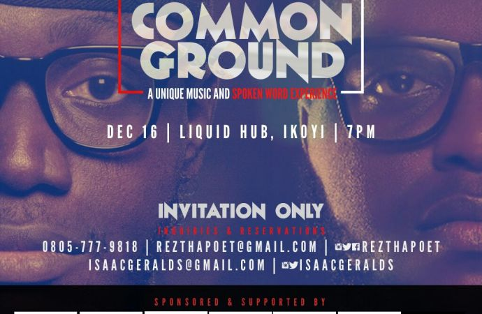 Common Ground: Spokenword entrepreneur set to release Album this February