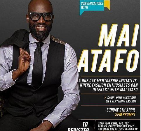 Fashion entrepreneurs: Register to attend Mai Atafo's one-day mentorship class