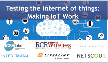 Testing IoT Internet of Things