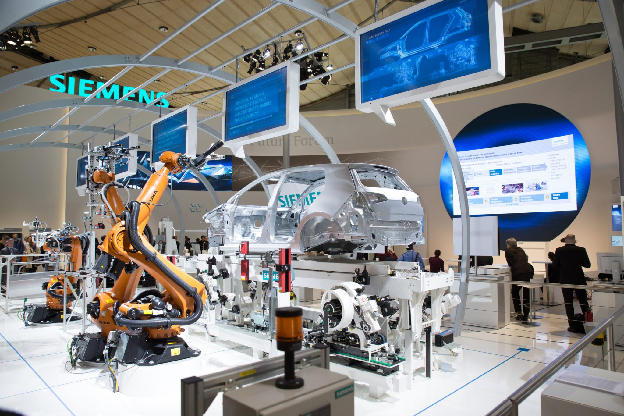 Automation Doesn T Cost Jobs Concludes German Industry 4 0 Report