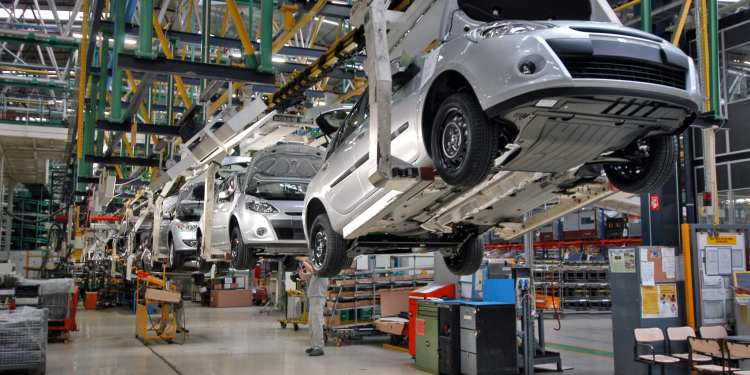 Car Auto Smart Manufacturing Industrial 5G Private 5G