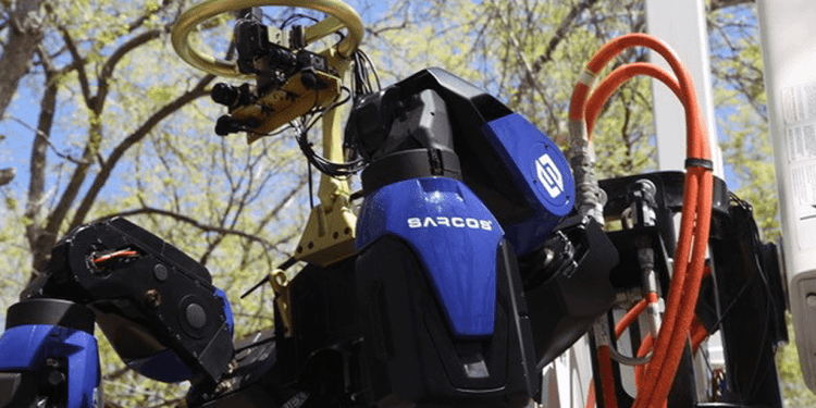 5G robotics sarcos