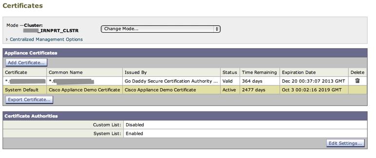 How to Setup SSL Cert on IronPort - [SOLVED] enterprise IT