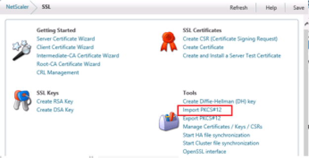 Import .pfx certificate from IIS to NetScaler VPX - [SOLVED ...