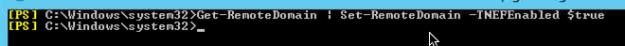 Get-RemoteDomain | Set-RemoteDomain -TNEFEnabled $true