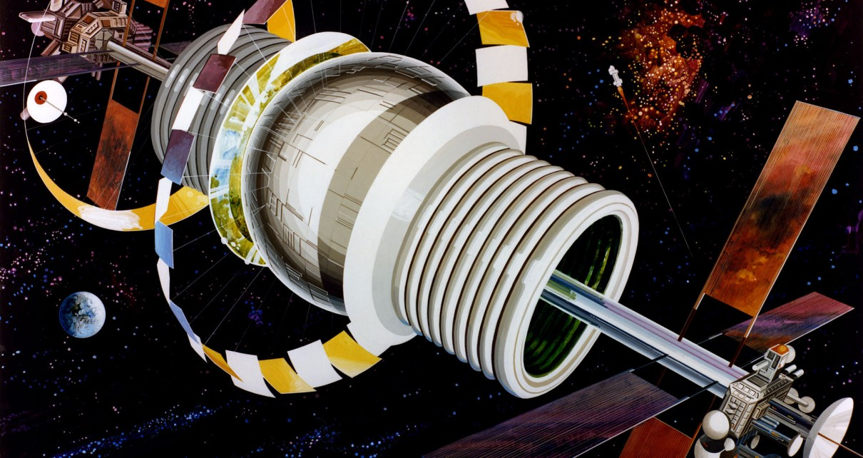commercial space, space settlement
