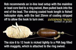 magaligner pva maggots rig