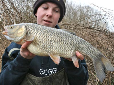 Ben Ward with a fine chub