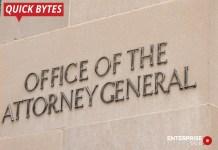 U.S. Attorney General, Facebook, Google, Amazon, Apple, Wall Street Journal, Justice Department