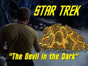 """Season 4, Episode 1 """"The Devil in the Dark"""" (TOS) with Lee"""