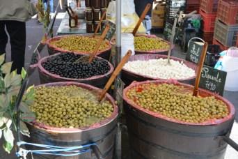 An abundance of olives