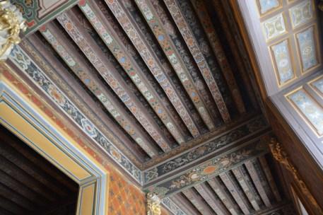 painted beams