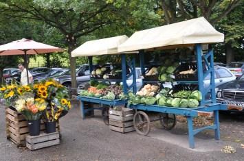 Plenty of fresh produce