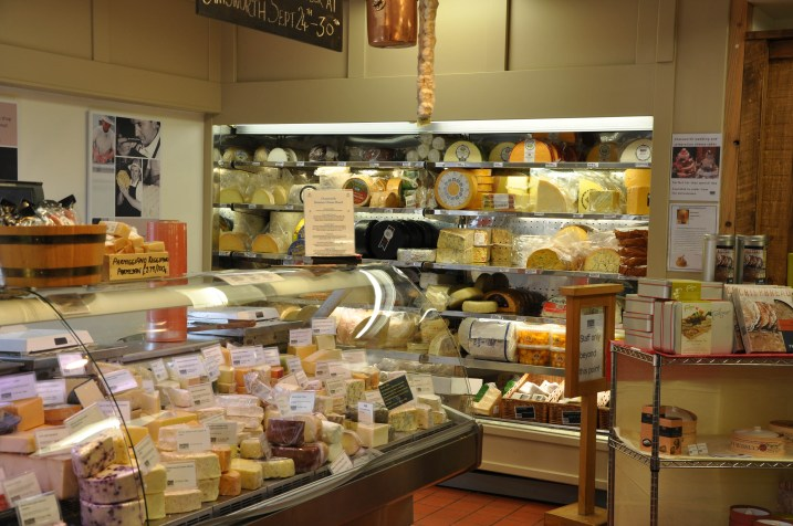 A wonderful cheese selection