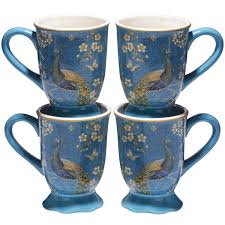 Exotic Garden Footed Mugs