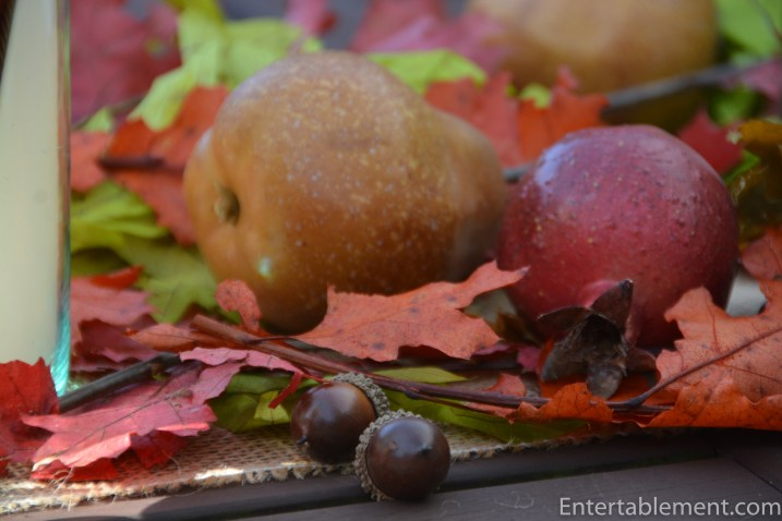 acorns and pears