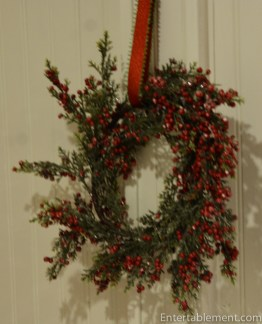 A wreath from Michael's