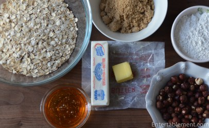 Assemble the crunch ingredients
