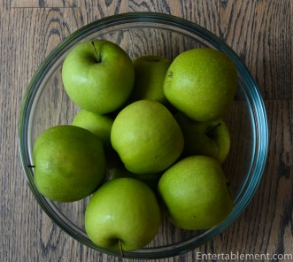Granny Smith apples hold their shape nicely