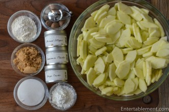 Gather the filling ingredients