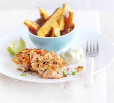 salmon&ginger fishcakes