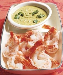 Shrimp Dip with Gingery Cilantro