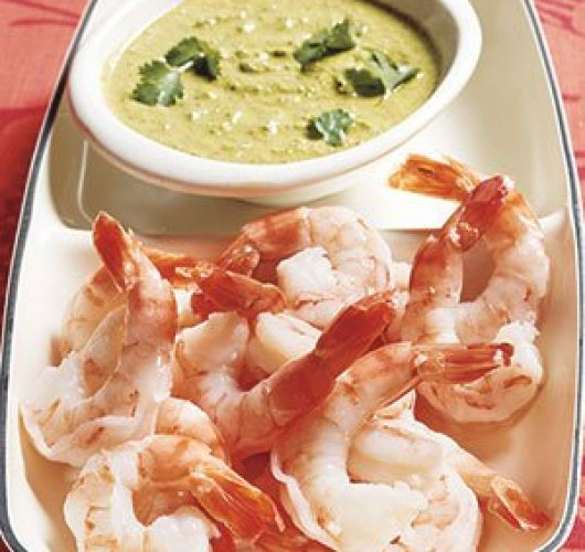 Shrimp Dip with Gingery Cilantro