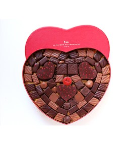 Best Valentines Day chocolates, La Maison Du Chocolate Heart Box