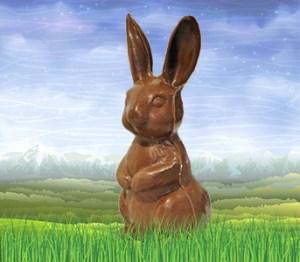 Cutest Chocolate Easter Bunny