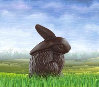Feel-Good Chocolate Easter Bunny