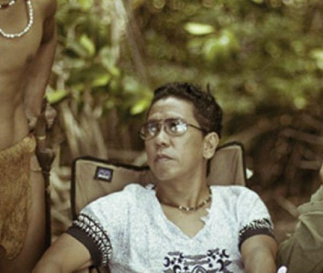 Director Auraeus Solito On The Palawan Set Of Busong Viory Schellekens