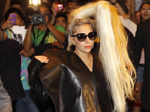 Lady Gaga. Photo Credit: Inquirer.net