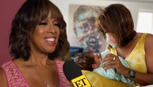 Gayle King Says She's Still Testing Out Grandma Names (Exclusive)   NewsBurrow