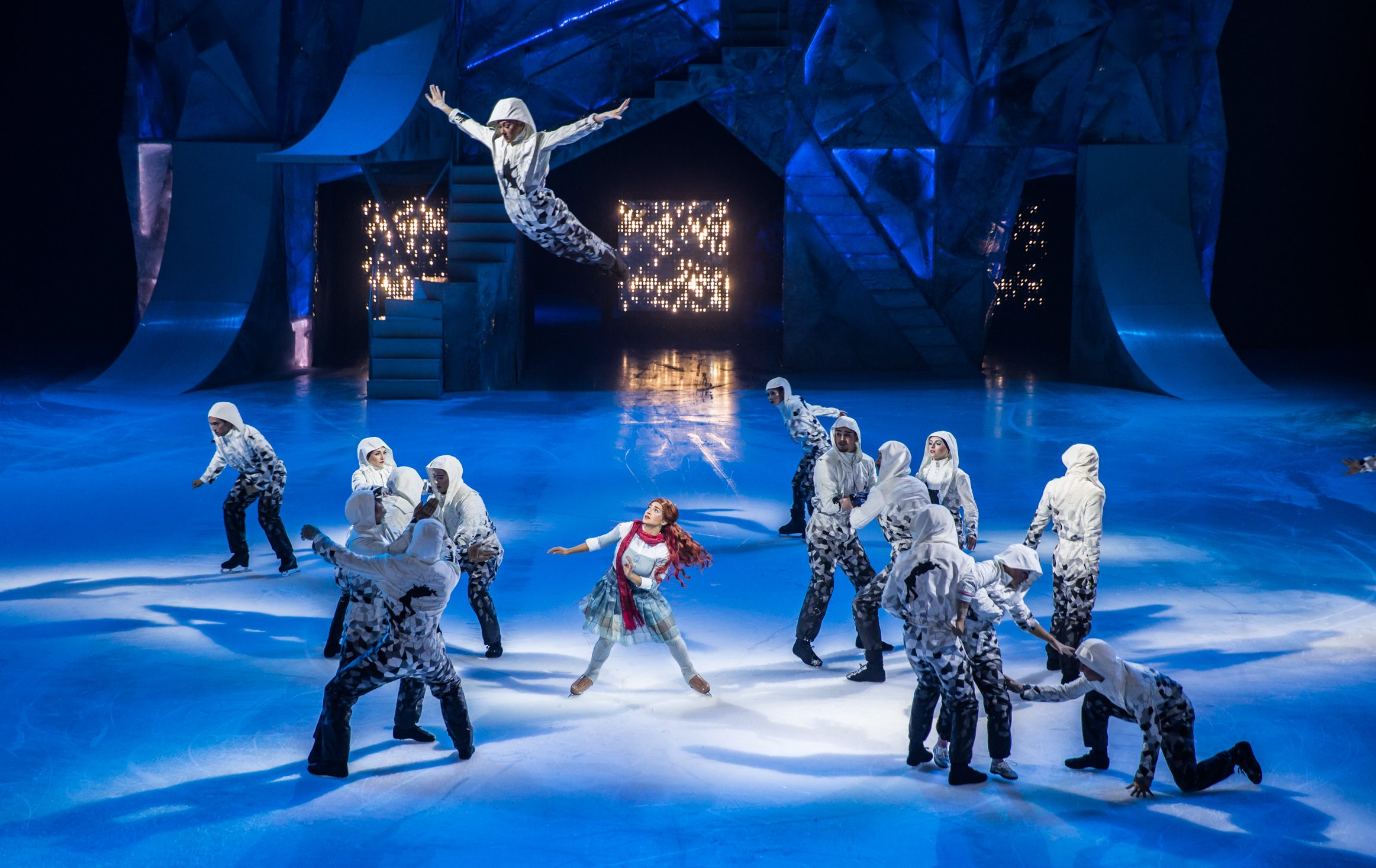 Ice-borne and airborne, Cirque du Soleil's 'Crystal' aims high.