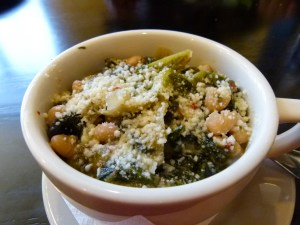 Escarole and beans.