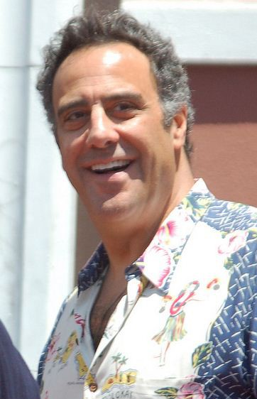 Brad Garrett at the ceremony for Patricia Heaton to receive a star on the Hollywood Walk of Fame in 2012. Photo: Angela George and Wikipedia.
