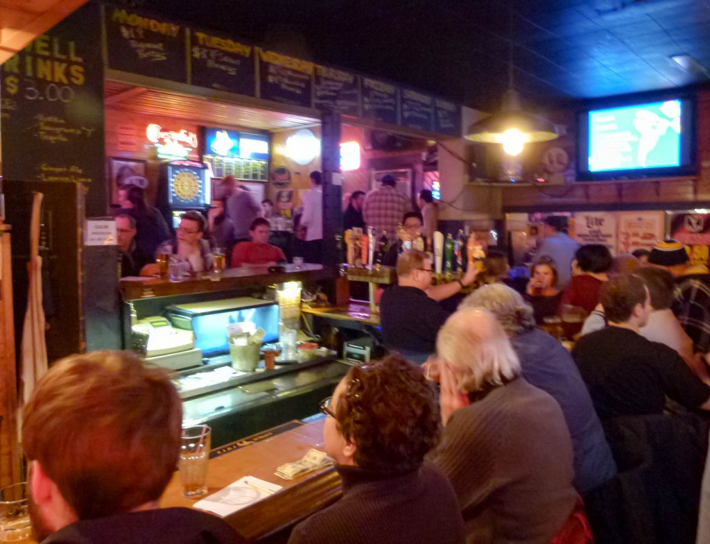 Trivia night packs them in at Gene's Place.