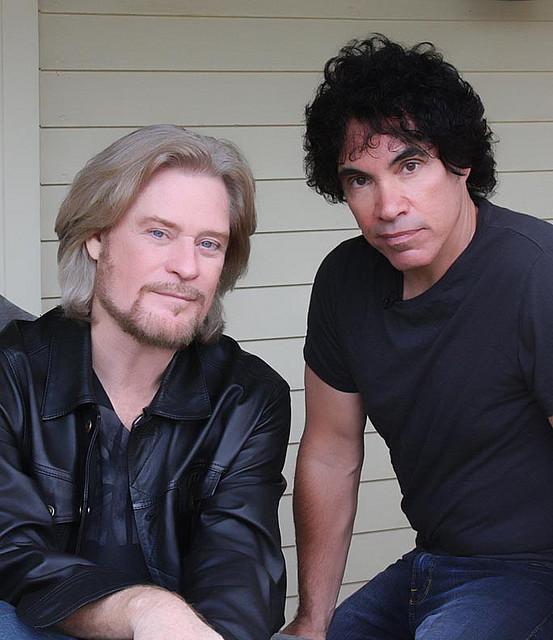 Daryl Hall and John Oates in 2008. photo: Gary Harris and Wikipedia.