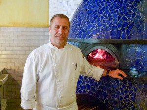 Executive chef Richard Sphatt oversees not only the wood-fired pizza but also the numerous antipastos, pastas, and desserts.