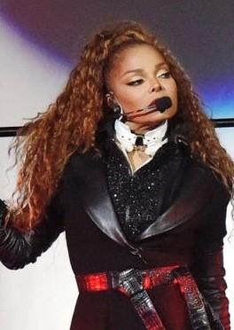 Janet Jackson preforming in concert this year on her State Of The World Tour. Photo: Jai1814 and Wikipedia.